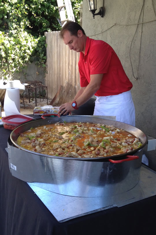 Another outdoor event for Socal Paella