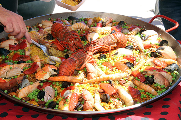 Paella cooking in San Felipe Festival