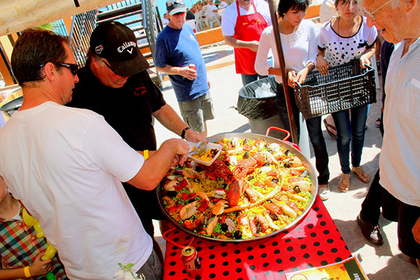 Paella contest winner